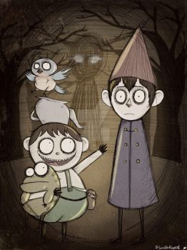 Over the Garden Wall by JeSuisUnRaptor