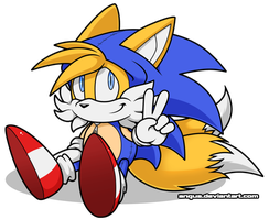 Summer of Sonic Tails Cosplay Contest Splash Image by angus