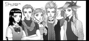 Paradise Kiss Team by daekazu
