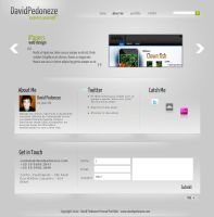 My new portfolio Design by dpedoneze