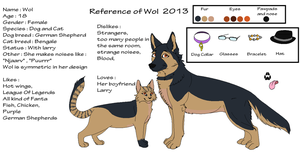 Reference Of Wol 2013 by Rexbn