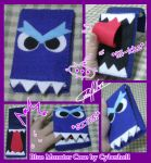 Blue Monster Case by CraftingYard