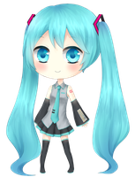 Miku by bluepluu