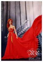 The Magic Red Dress Project 2 by Nigelchia