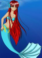 Mermaid by SilverInuYoukai