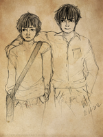 HP: Moony and Padfoot '' by maayes