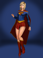 Supergirl by Sticklove