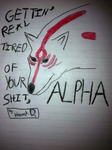 Ammy's had enough of Alpha by GNGRiki