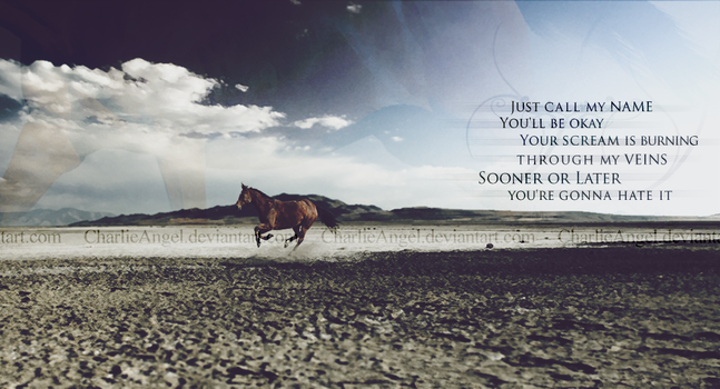 Sooner or Later by Charlie--X