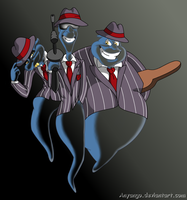 ::-The Mobster Trio-:: by Starimo