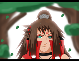 Seika_ Walking In the forest by SoulOfPersephone
