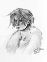 Squall Lionheart by soulofsorrow