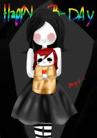 HAPPY B-DAY... algo tarde xD konnycatloves by Angy-Ann