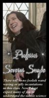 Snape Bookmark Redo by Miasmahex-Vicious