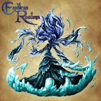 Endless Realms bestiary- Corrupt Water Spirit by jocarra