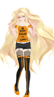 - MMD NC - NUIC SEEU by NoUsernameIncluded