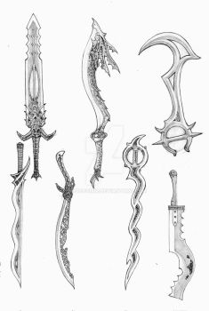Swords of Pantheron by anoccomir