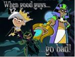 When good guys go bad by GothicHalfa1