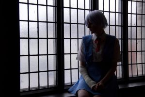 Light and Shadow : Rei Ayanami by Lossien