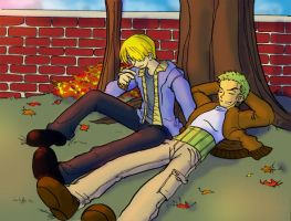 Relax in Autumn by Umitsu