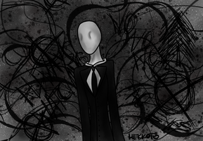 Slenderman by Hekkoto