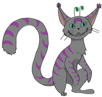 Arius the Cheshire by sinistertale