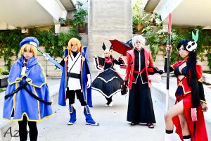 Blazblue grupal 2 by Shizel-Azur