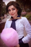 Bioshock - Elizabeth - Cotton Candy by MilliganVick