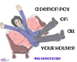 Will Herondale - A Demon Pox on All Your Houses! by bejeweledmoonphoto