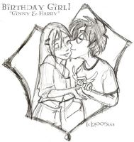 Happy Birthday Ginny - HBP by lberghol