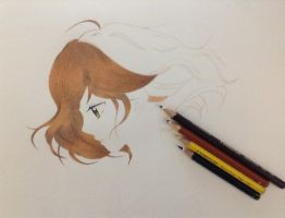 Ao Haru Ride - Drawing Futaba by AnimeForeverMine