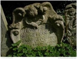 1690 Gravestone by In-the-picture