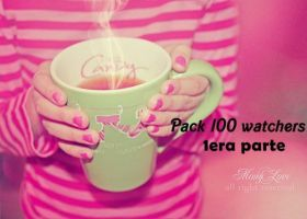 1era parte pack 100 watchers by solochiquitita