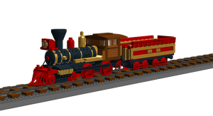 Lego American steam train 2-2 one1 by 10Avoid