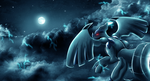 Zekrom- To The Night Sky by Deruuyo