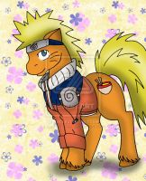 Naruto Pony by CathyMouse2010