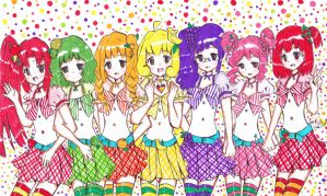 Fruits girls by Choulaphone
