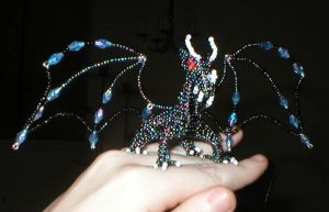 Ancient Beaded Dragon by jardan