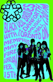 BVB Band Poster by SilverstormWarrior53