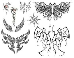 Tattoo Designs 0 by dannydevil