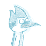 Regular Show: Mordecai by EighteenOhSeven