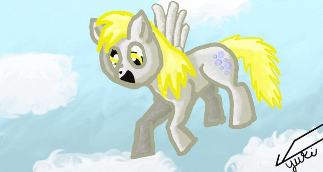 Derpy Hooves by Yukifall