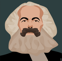 Karl Marx by KM-Chai