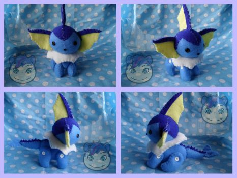 BJP Vaporeon by Sexual-Pancake