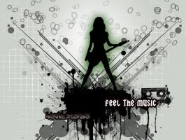 Feel the music by unikguyraj