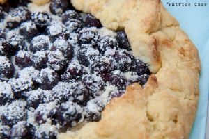 Blueberry galette by patchow