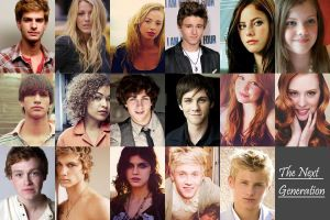 Next Generation Dream Cast Redo by AstridGrace