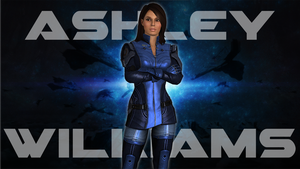 Ashley Williams Wallpaper by doommaster500
