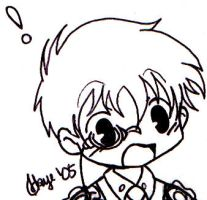 DC-MK - Chibi KID Freaked Out by skyechan