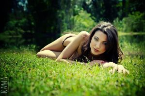 Anavic on the Grass by Kama-Photography